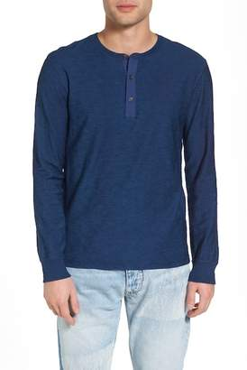 Levi's LEVIS MADE AND CRAFTED Long Sleeve Slim Fit Henley Shirt