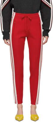 Etoile Isabel Marant Red Dario Lounge Pants