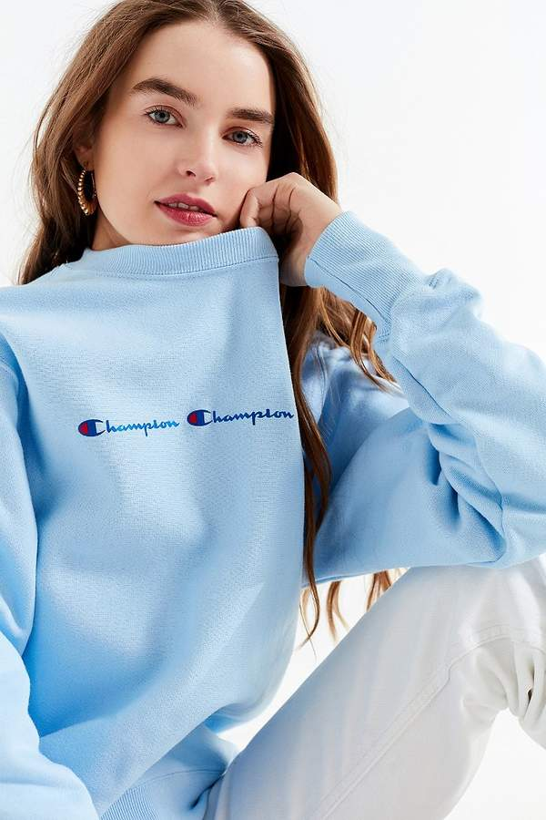 Champion & UO Reverse Weave Graphic Sweatshirt