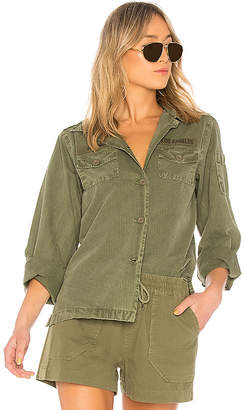 ANINE BING A. Bing Military Shirt