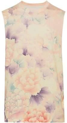Maison Margiela Floral Print Cotton Tank Top - Mens - Multi