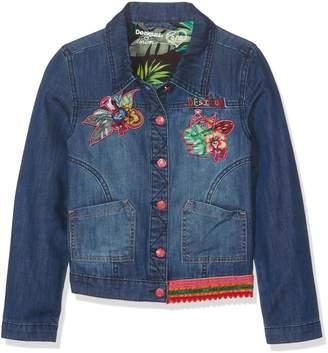 Desigual Girls' Denim Jacket Puqui, Sizes 5-14 (7/8)