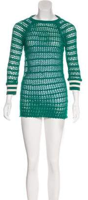 Etoile Isabel Marant Open Knit Long Sleeve Tunic