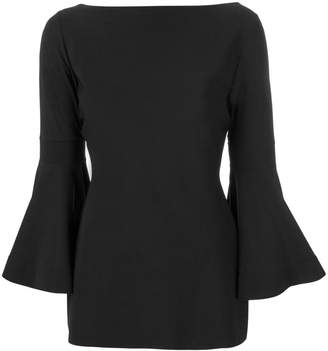 Chiara Boni Beyonce three quarter sleeve blouse