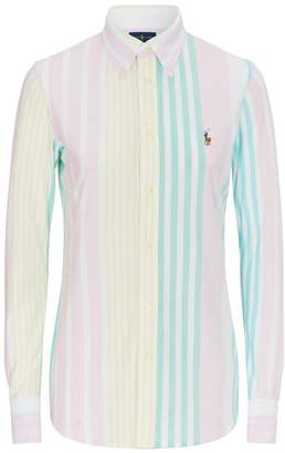 Polo Ralph Lauren Heidi Striped Knit Oxford Shirt