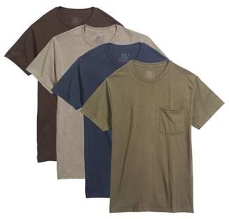 Fruit of the Loom Big Men's Dual Defense Assorted Pocket T-Shirts