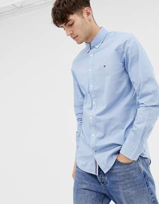 89f7e2ed0 Tommy Hilfiger hexagon print slim fit shirt