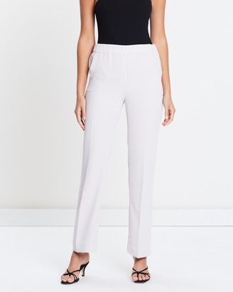 Mng Straight Suit Trousers