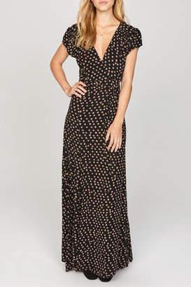 Amuse Society Beachscape Wrap Dress
