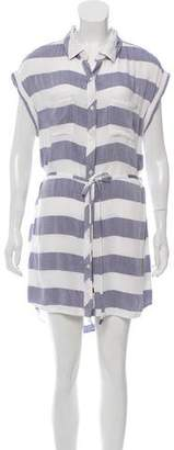 Rails Striped Knee-Length Dress