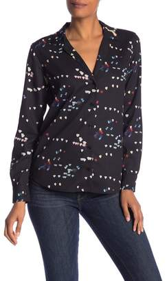 Equipment Adalyn Patterned Button Down Shirt