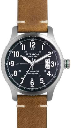 Filson Men's Mackinaw Field Watch $650 thestylecure.com