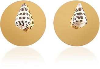 Rebecca de Ravenel Sirena Gold Earrings