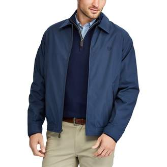 Chaps Big & Tall Twill Full-Zip Jacket