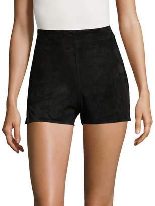 Haute Hippie Women's Solid Slit Shorts