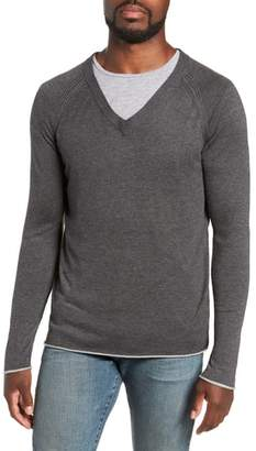 Salinas MILLS SUPPLY Cash V-Neck Sweater
