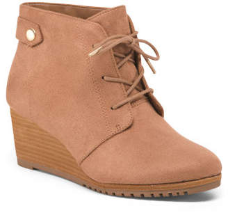 Tie Up Comfort Wedges