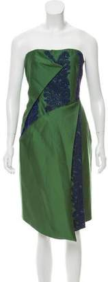 Bibhu Mohapatra Embellished Strapless Dress