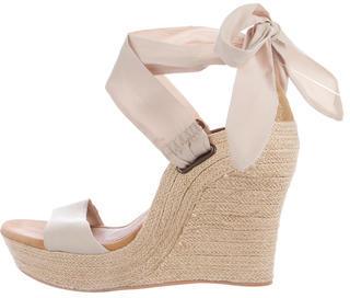 UGG Australia Espadrille Wedge Sandals $95 thestylecure.com