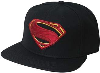 Bioworld DC Comics Justice League Movie Superman Icon Embroidered Snapback