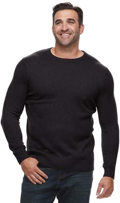 Croft & Barrow Big & Tall Classic-Fit 7GG Super Soft Crewneck Sweater