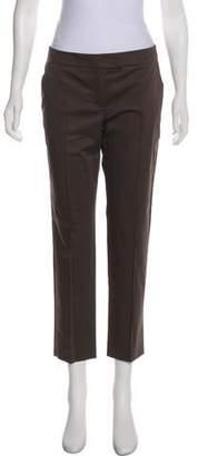 Akris Mid-Rise Straight-Leg Pants