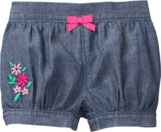 Gymboree Floral Denim Shorts
