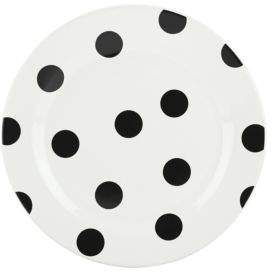 Kate Spade All in Good Taste Deco Dot Accent Plate