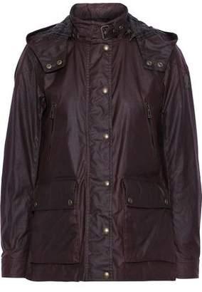 Belstaff New Tourmaster 2.0 Waxed-cotton Hooded Jacket
