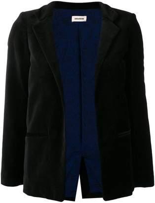 Zadig & Voltaire Zadig&Voltaire open blazer jacket
