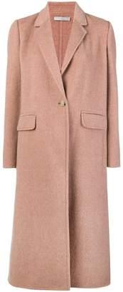 Vince single button coat