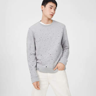 Club Monaco Splatter Sweatshirt