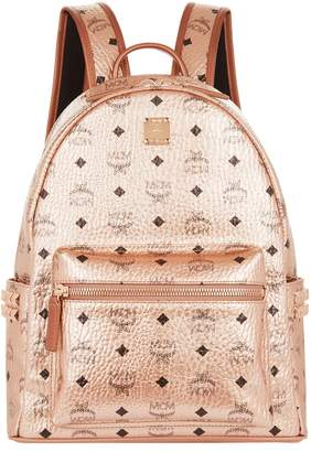 MCM Medium Metallic Stark Backpack