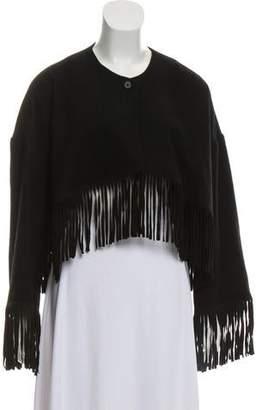 Diane von Furstenberg Limora Cropped Jacket w/ Tags
