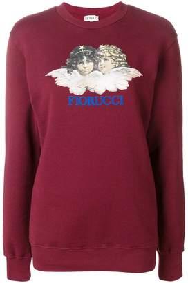 Fiorucci logo print sweater