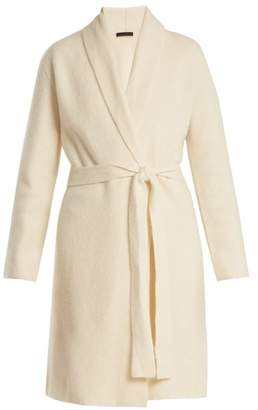 The Row - Naido Long Line Belted Cashmere Cardigan - Womens - Ivory