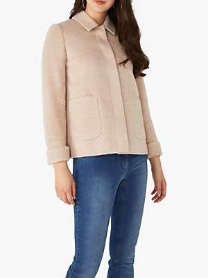 AllSaints Pure Collection Wool Blend Short Swing Coat
