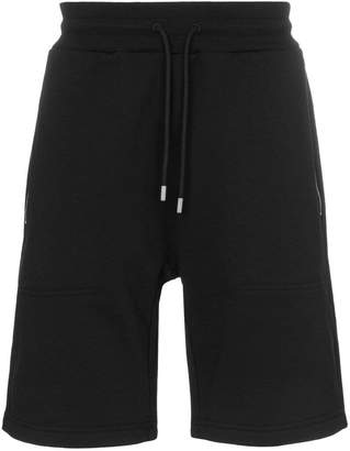 1017 ALYX 9SM zip pocket logo print track shorts