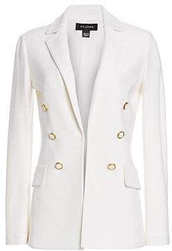 St. John Women's Gail Knit Wool-Blend Blazer