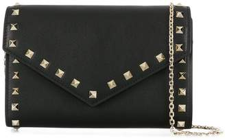 Valentino Rockstud envelope crossbody bag