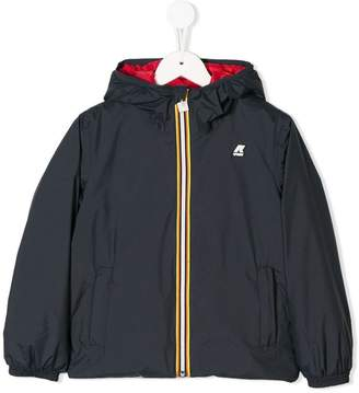 K-Way padded hooded jacket