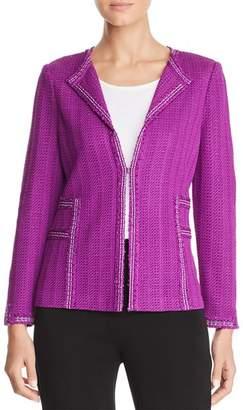 Misook Metallic Knit Jacket