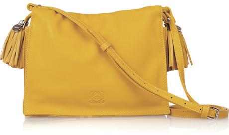 Loewe Flamenco 20 small leather shoulder bag
