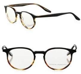 Barton Perreira Norton Tortoise Shell Round Eyeglasses