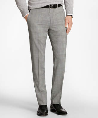 Brooks Brothers Regent Fit BrooksCool Glen Plaid Trousers