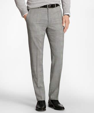 Brooks Brothers Regent Fit BrooksCool Glen Plaid Trousers