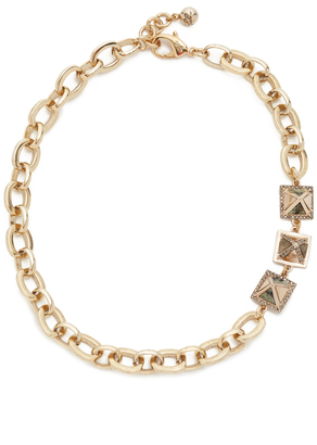 Lulu Frost Pyramides Necklace $338 thestylecure.com