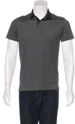 Theory Sandhurst Striped Polo Shirt
