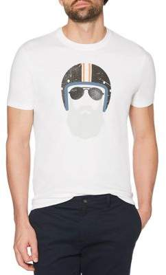 Original Penguin Biker Beard & Helmet Graphic Tee