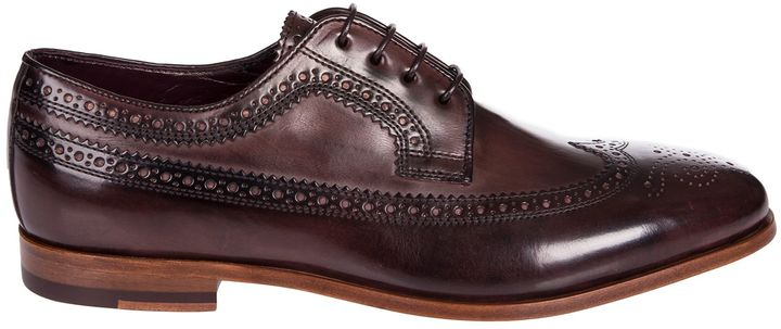 Paul SmithPaul Smith Brogue Detail Oxford Shoes